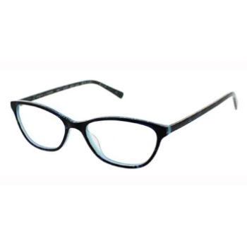 Red Raven Diamond Peak Eyeglasses